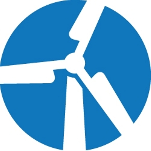 Wind Turbine Icon Integrating wind turbine